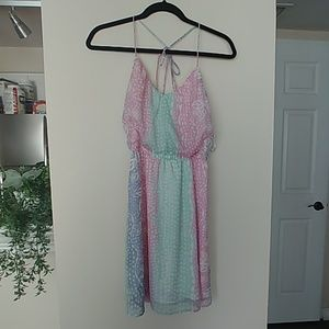 ROXY tye dye vacation dress